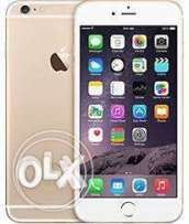 مطلوب iphone 6 plus gold