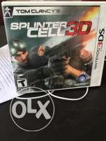 3DS game Tom Clancy Splinter Cell 3D