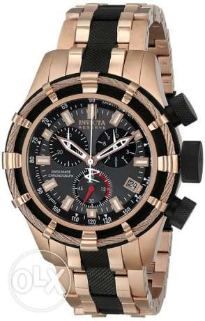 Invicta Men's 5628 Reserve Collection Rose Gold-Tone Chronograph Watch