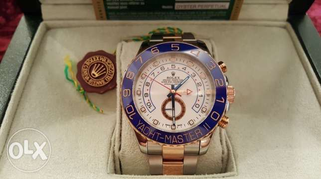 The Only Rolex-Yacht-M2 rose gold with Int. national Guarantee القاهرة -  2