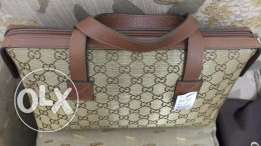Gucci Boston Bowling Bag Canvas Handbag