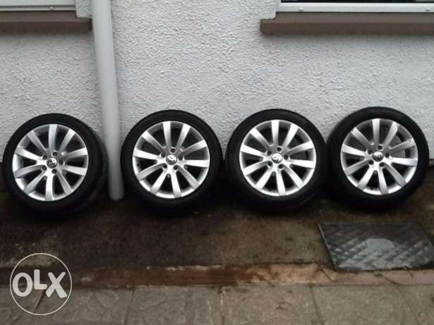 17 جنوط/inch scriocco rims for sale with tyres القاهرة -  1
