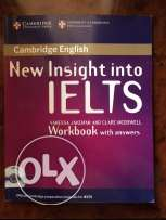 original cambridge ielts books with their cds.