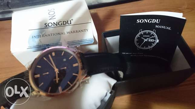 Songdu original watch from USA classic elegant watch rose gold