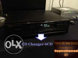 ONKYO High Fidelity 6CD Multi Player