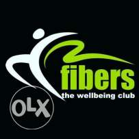 A member ship in fibers gym (city square rehab gate 6) اشتراك جيم