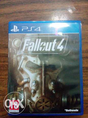 Fallout 4 game PS4