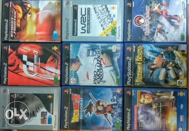 Play station 2 بلايستين 2 ps2