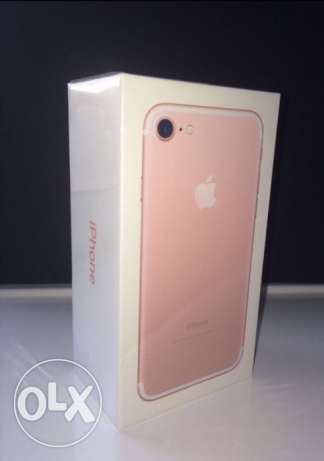 New IPhone 7 Sealed Rose Gold 32GB From USA القاهرة الجديدة -  1