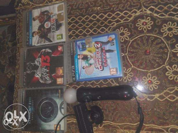 PS move with 4CD ps3