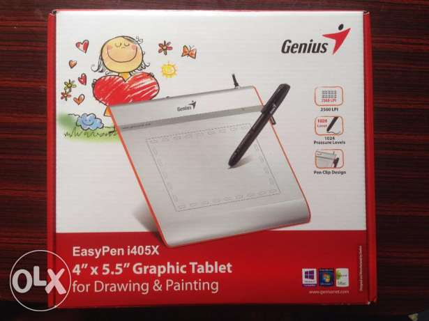 تابليت تاتش للجرافيك والمدرسين Genius EasyPen I405X Graphic Tablet