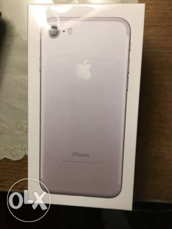 sealed iPhone 7 32g silver