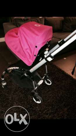bugaboo bee + maxi cosi car seat + base + adapters + umbrella مدينة نصر -  2