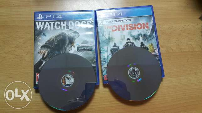 the division & watch dogs