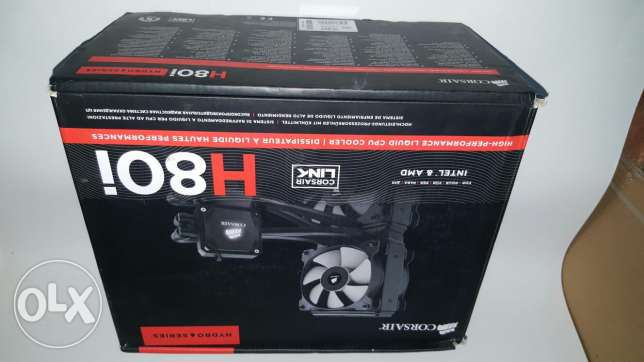 Corsair h80i Liquid Cooler R.G.B in good condition