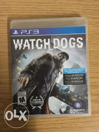 Watch dogs for PS3 مصر الجديدة -  1