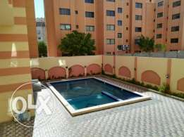 Flat in Kawther, behind Metro, in building with a sw. pool. 100m, 2 br