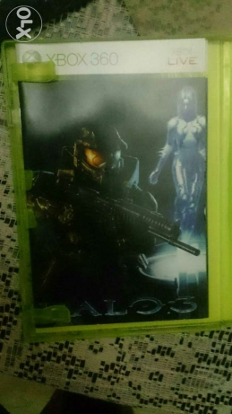 Halo 3 for xbox 360 original for trade الزمالك -  2