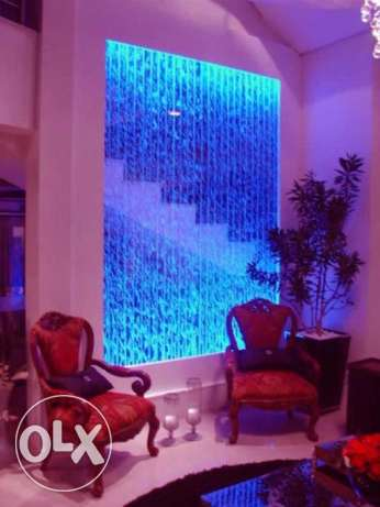 2018 modern decoration dancing water walls