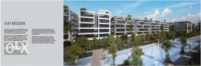 Apartment 122 sqm with Garden at Lake View Residence , New Cairo For S القاهرة الجديدة -  2
