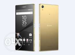 sony Z5 premium gold 32gb dual with 128gb memory card