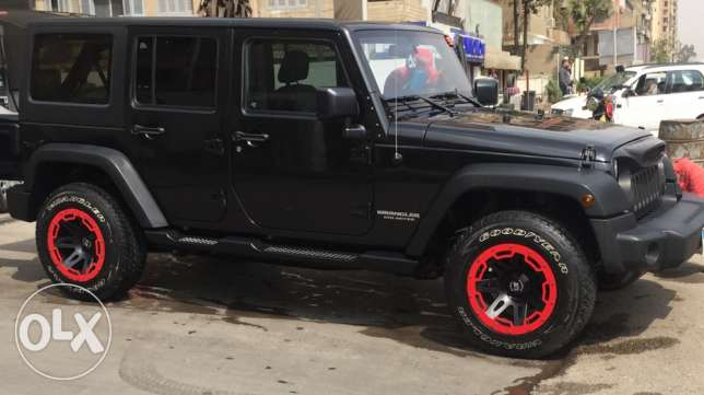 Jeep Wrangler 2015 BLACK * BLACK