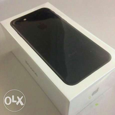 i-Phone 7 BLACK 128 GB New