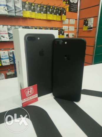 iPhone 7 plus 256gb with good condition with all things for 17500