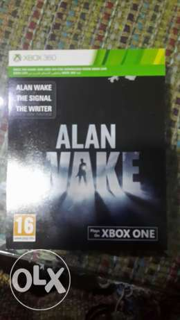Alan Wake for xbox one and xbox 360