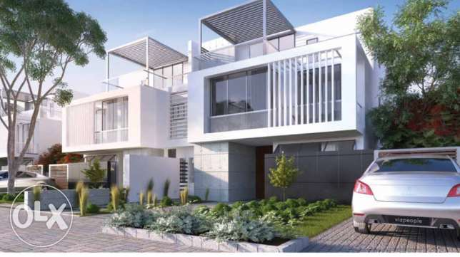 twin house for sale 8 years installment plane 6 أكتوبر -  3