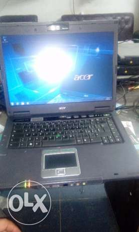 Acer core2due ram 2 hard 160 camera lcd 15.4