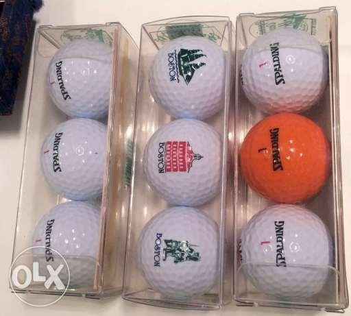 Special Occasion Golf Balls - EnjoyLife USA ٣ علب كرات جولف مميزة