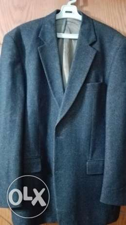 Blazer Tailor & Sons size 52 - brown golden wool - بليزر صوف انجليزي