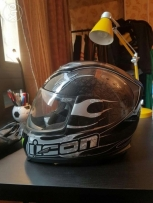 Icon claymore helmet