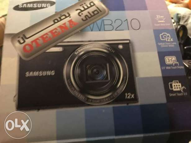 Samsung EC-WB210 Digital Camera with 14 MP, 12x Optical Zoom and Touch سموحة -  1