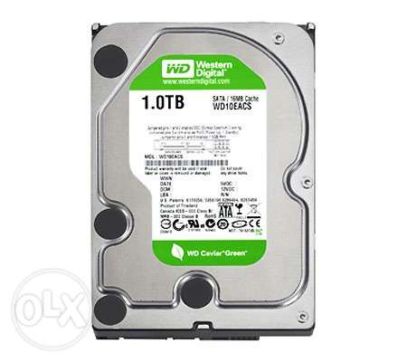 Western Digital 1 TB SATA 64 MB