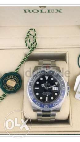 rolex Gmt master batman edition 2017