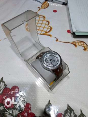 Swatch original leather watch