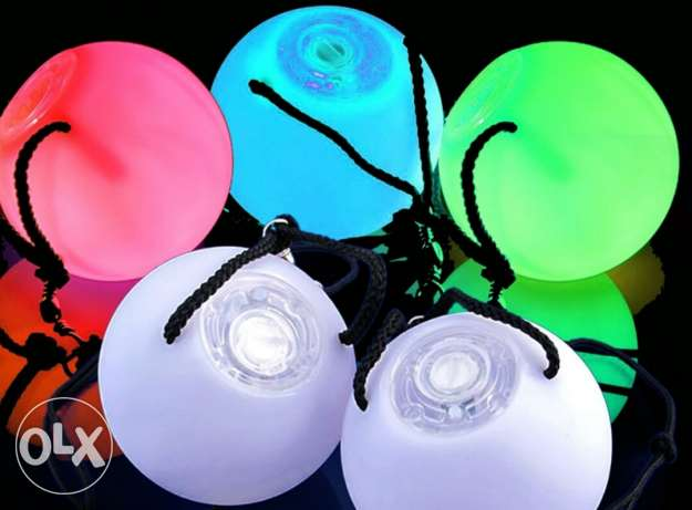 Led poi ball for sell 2 pair