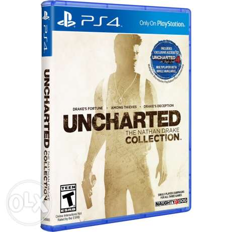 uncharted collection & The last of us ps4