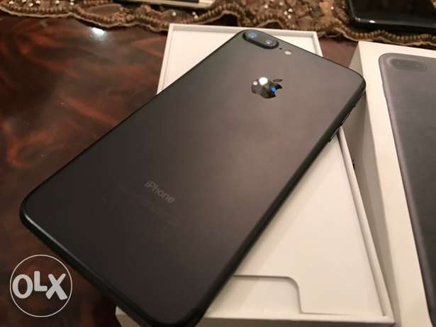 iphone 7 plus 32 black matte as new مدينة نصر -  4