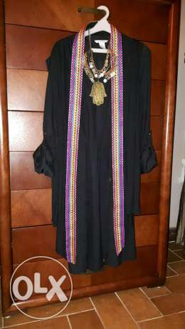 Price doesn't include necklace only dress and Cardigan مدينتي -  1