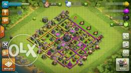 CLASH OF CLANS town hall 9 for sell