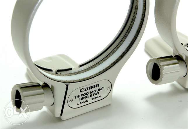 Genuine Canon Tripod Mount Ring B(W) for EF 70-200mm / 100-400mm وسط القاهرة -  3
