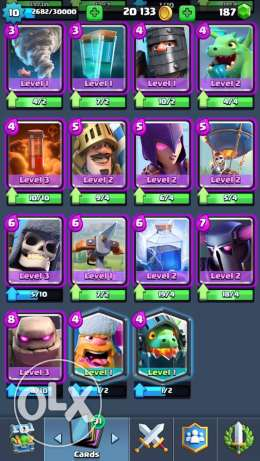 clash royale account المنصورة -  5