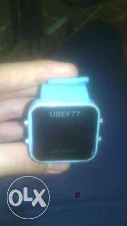 ساعة led watch