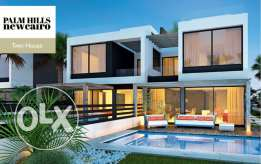 Twin House 315 SQm for sale With Installament - Palm Hills New Cairo