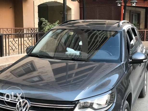volks tiguan grey المعادي -  1