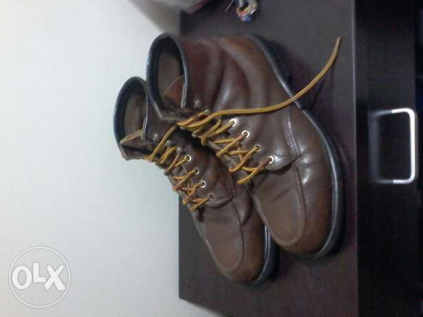 Safety Red Wing 45 Brown