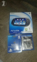 PlayStation Vita - PS VITA + Call Of Duty + Memory Card بي اس فيتا